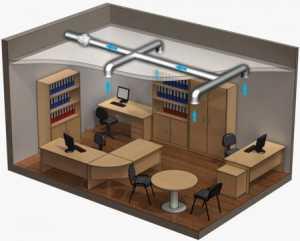 Качественная вентиляция жилых и офисных помещений