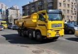 На дорогах Украины замечен самосвал нестандартной конструкции (видео)