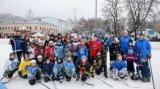Знаменитые украинские хоккеисты провели мастер-класс для учащихся детских школ